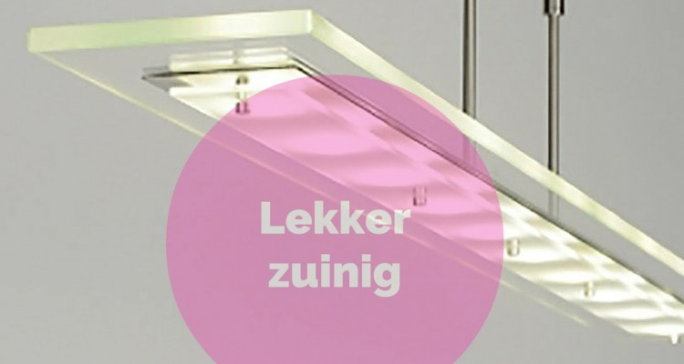 Led-verlichting verbruikt 90% minder energie dan spaarlamp