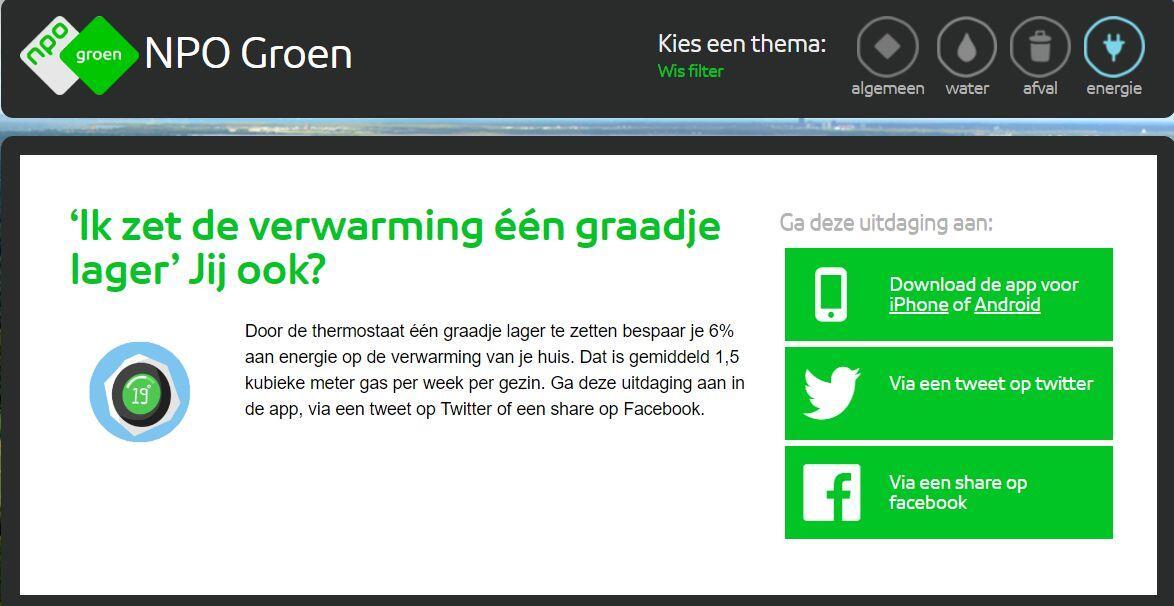 NPO Groen app - blog Woontlekker