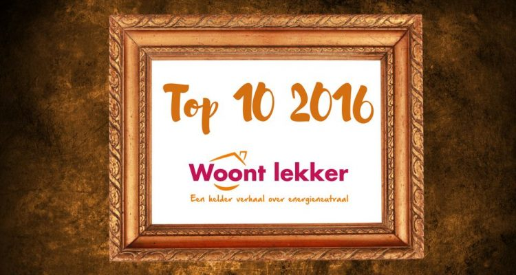 Top 10 Woontlekker blogs in 2016