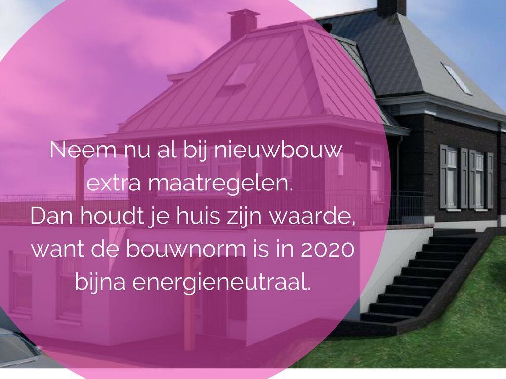 Bouw of koop geen tweedehands huis