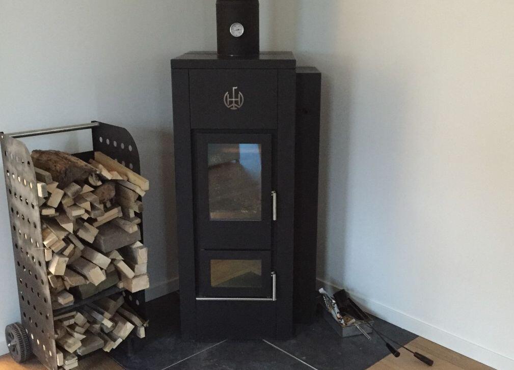 Les passiefbouw en je huis verwarmen met slechts 3 kuub hout