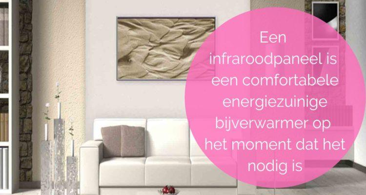 Infrarood Paneel Spiegel : Infraroodpaneel vervangt je gasaansluiting woontlekker