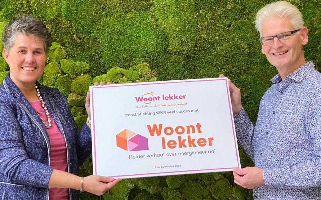 Blog Woontlekker overgedragen aan stichting WNR