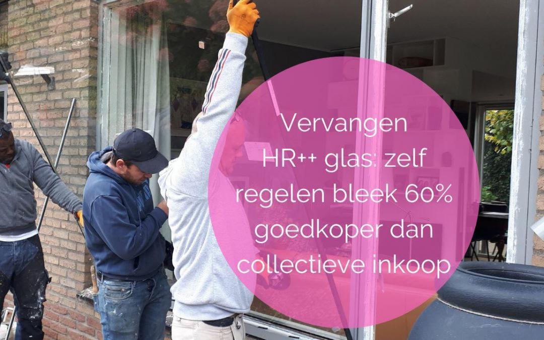 Ruiten met HR++ glas verbeteren het comfort in je woning